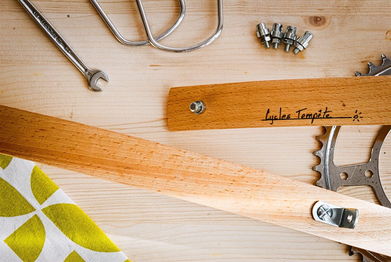 Fabriquer garde boue en bois