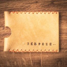 porte carte cuir fait main